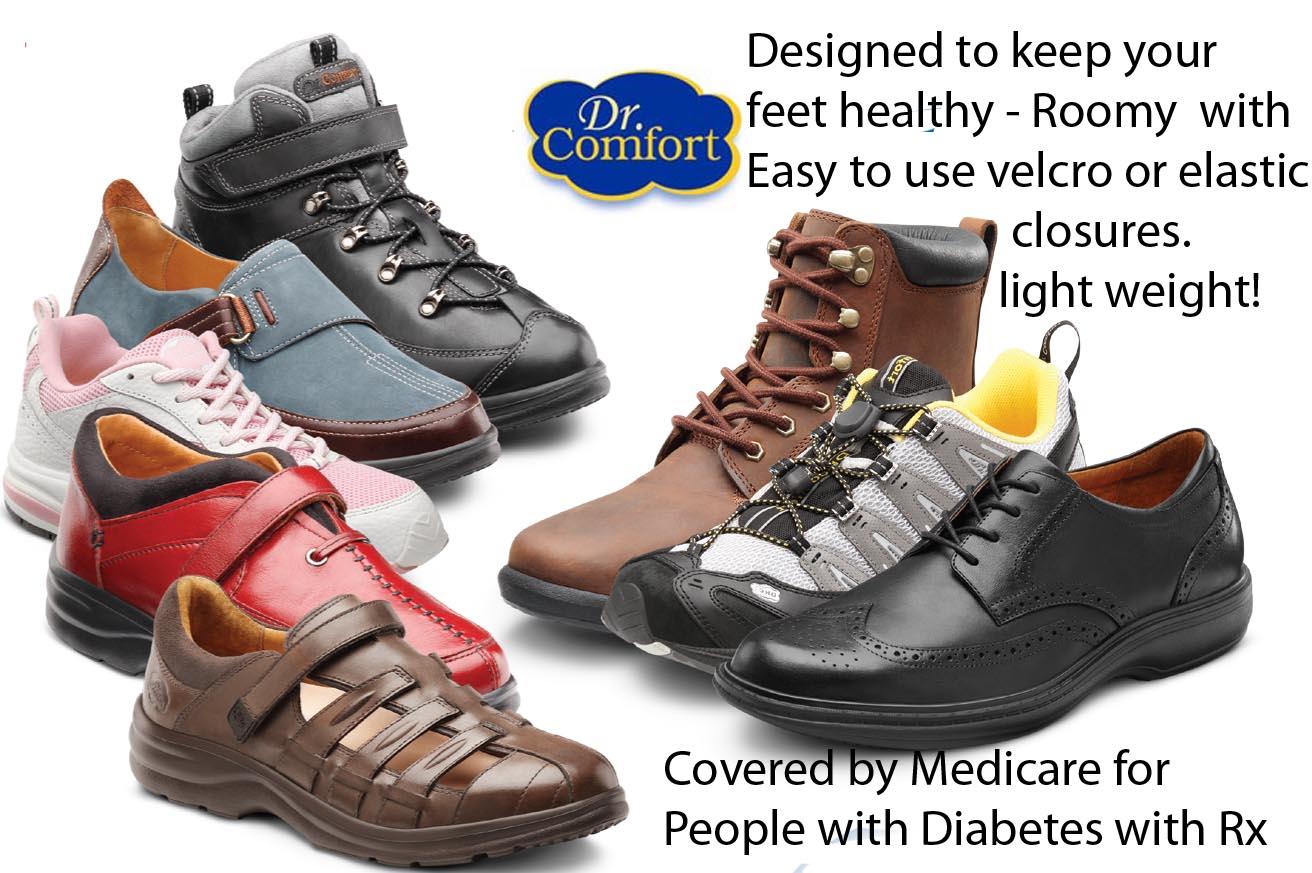 Diabetic Solutions | Dr. Comfort Shoes